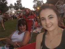 Mom and I!